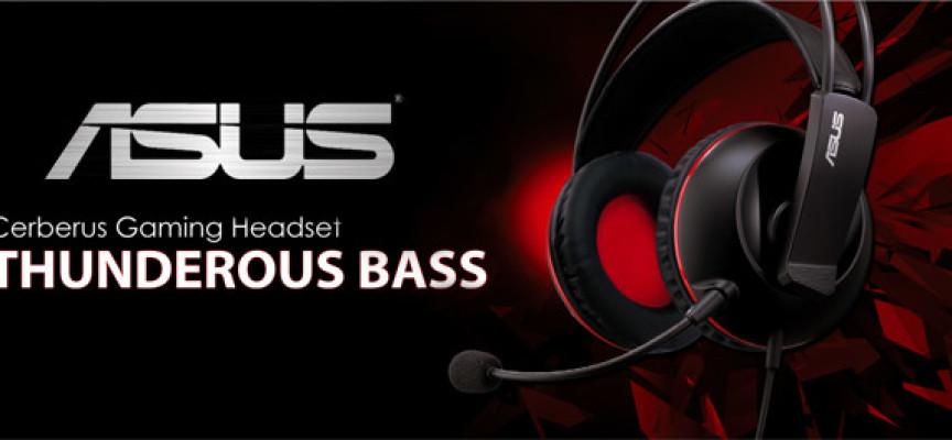 Cerberus, un nouveau casque gamer made by Asus
