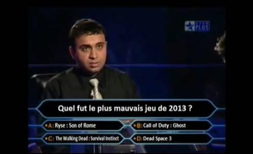 Qui Veut Gagner Des Millions : le plus mauvais jeu de 2013