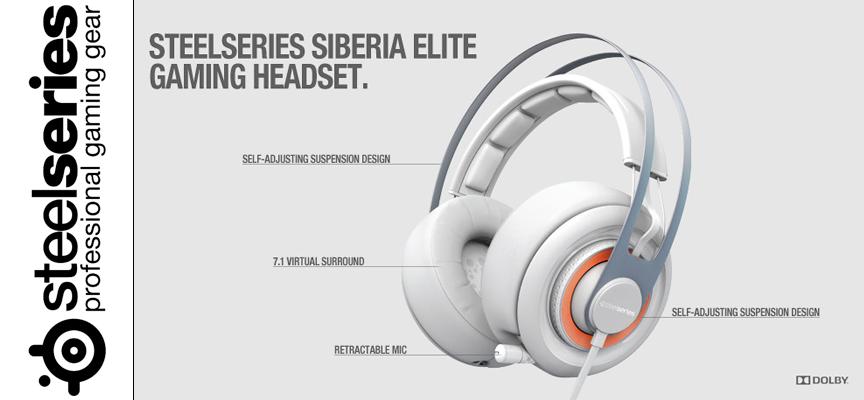 Test SteelSeries Siberia Elite – Casque Surround | PC / PS3 / PS4