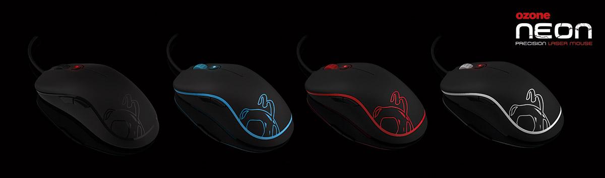 Une souris ambidextre, Ozone Neon pour gamer