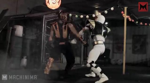 Scorpion vs Ranger Blanc