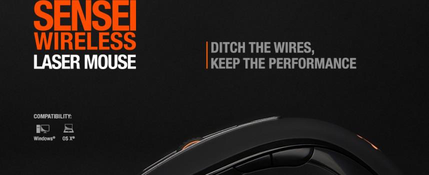 Souris SteelSeries Sensei Wireless !