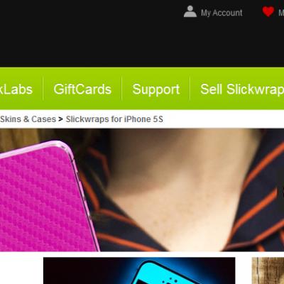 SlimWraps.com, les stickers «Made in USA» pour vos matériels multimédias