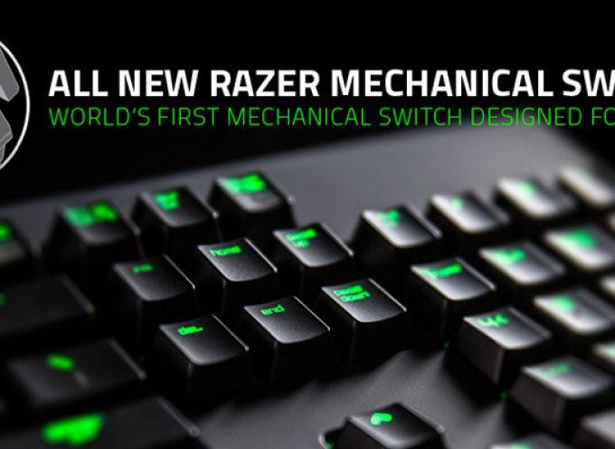 Razer sort les switches pour gamers