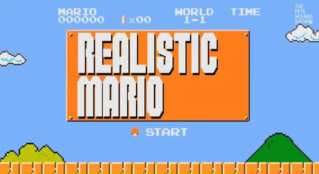 Realistic mario : comment ça se passe vraiment avec les «briques»