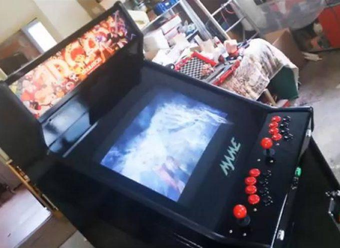 Restauration d'une borne arcade