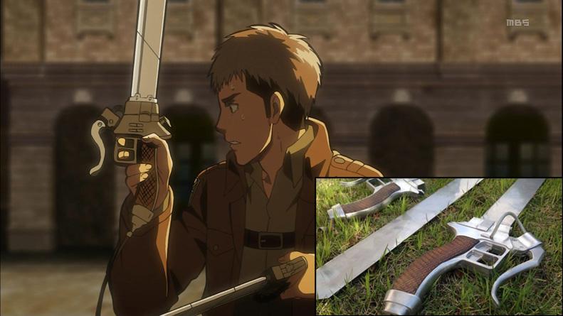 L'épée de Attack on Titan