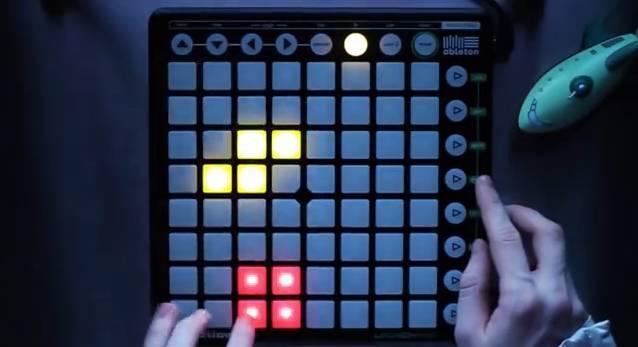 Tetris au launchpad