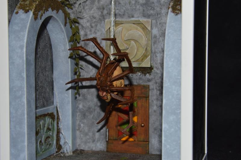 Diorama 3D Zelda Ocarina of time – Skulltula
