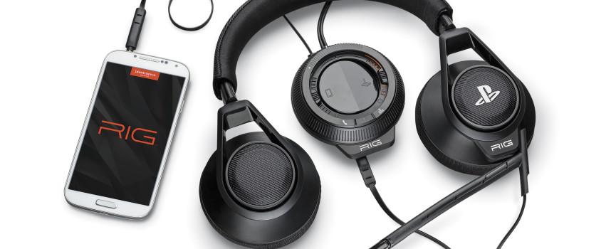 Plantronics et Sony s'associent autour du casque RIG