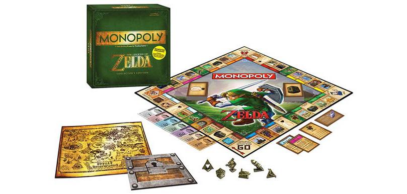 Jeu de société Monopoly Zelda