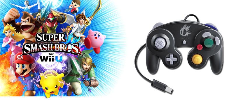 Bundle adaptateur Wii U + Manette GameCube Super Smash Bros