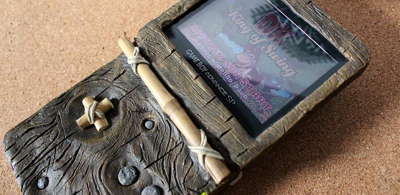 Mod GameBoy Advance SP Donkey Kong Country 2
