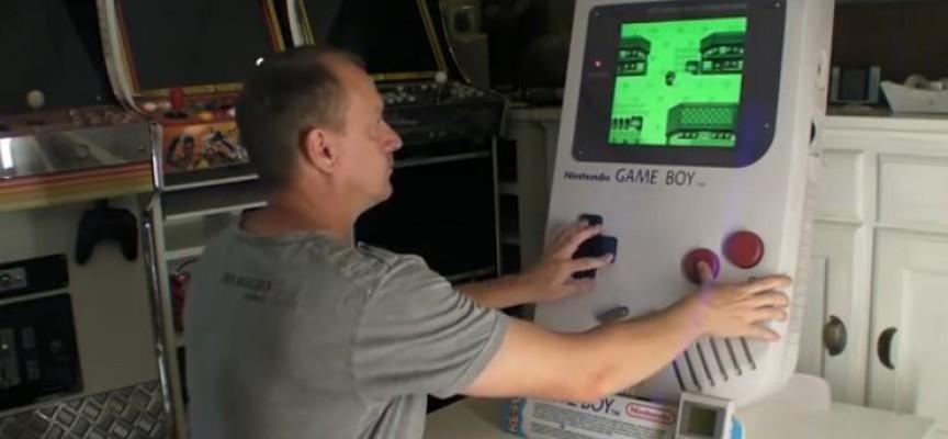 GameBoy géant 5:1eme Arcademy