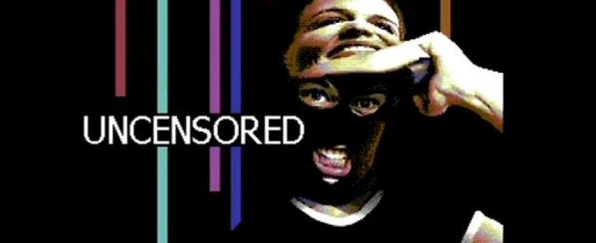 Uncensored, une démo Commodore 64 réalisée par Booze Design