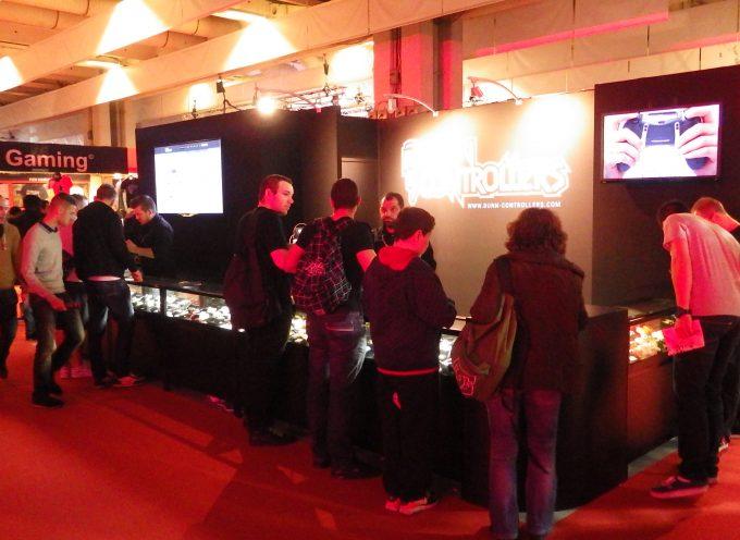 [Paris Games Week 2014] Stand Burn Controllers