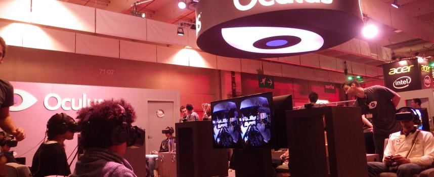 [Paris Games Week 2014] Stand Oculus Rift
