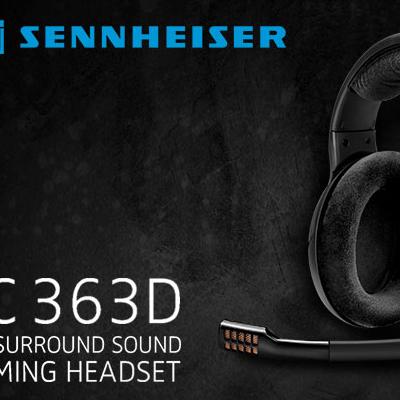 Test Sennheiser PC 363D – Casque 7.1   PC