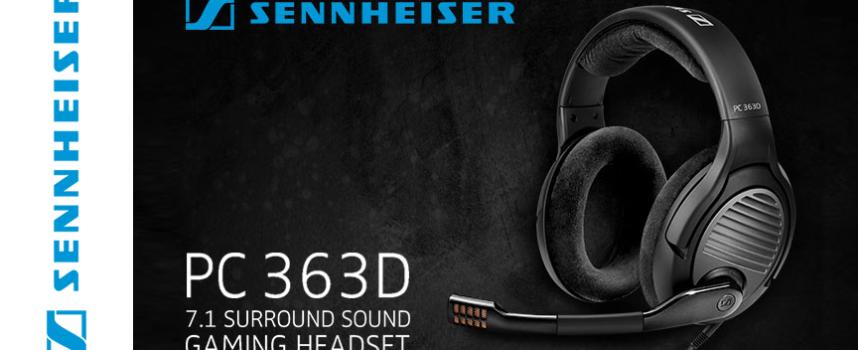 Test Sennheiser PC 363D – Casque 7.1 | PC