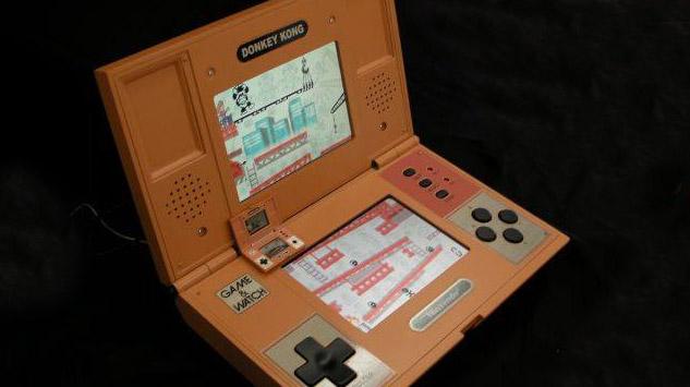 Game & Watch Donkey Kong géante