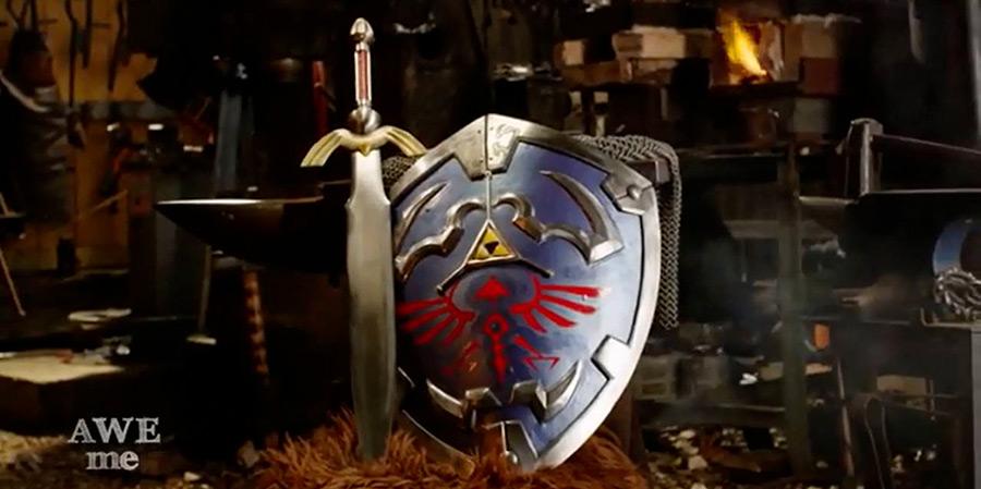 Le Bouclier Hylien de La Légende de Zelda IRL