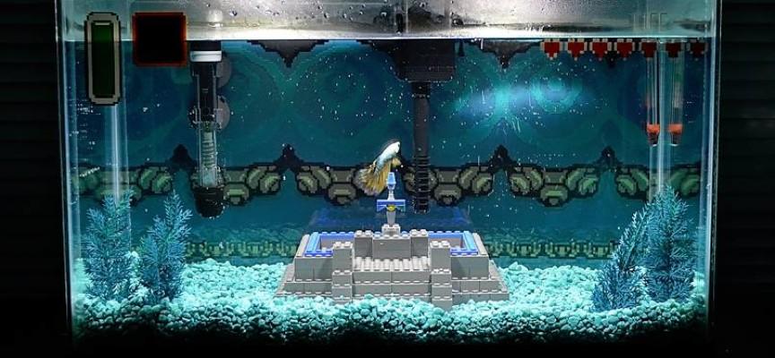 Aquarium zelda - Decoration pour aquarium ...