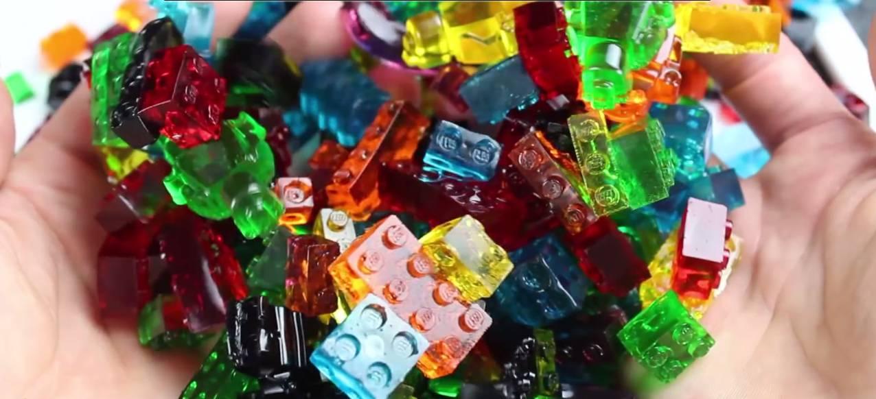 Tuto pour réaliser des briques Lego en gélatine