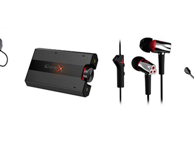 Creative lance la gamme audio Sound BlasterX®