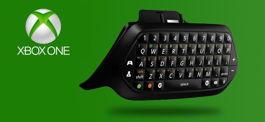 Nouveau chatpad pour la manette Xbox One