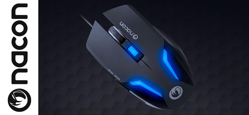 Test Nacon GM-105 – Souris Gamer | PC