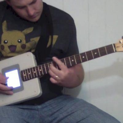 Guitar Boy, la guitare aux airs de 8 bits.