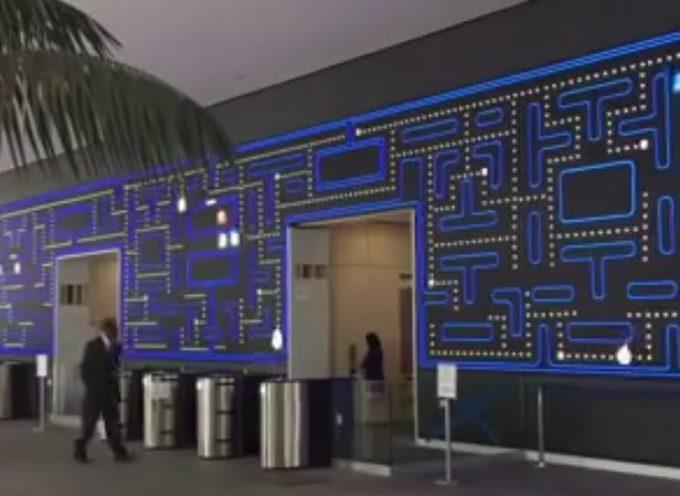 Mur Pacman chez Salesforce