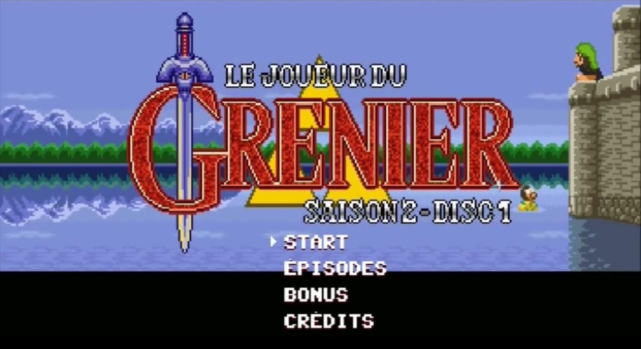 Le générique du DVD Joueur Du Grenier Saison2 pastiche Zelda A Link to the Past