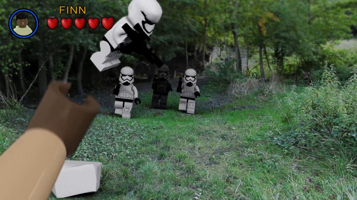 Le Réveil de la Force, une idée de ce que donnerait un FPS LEGO