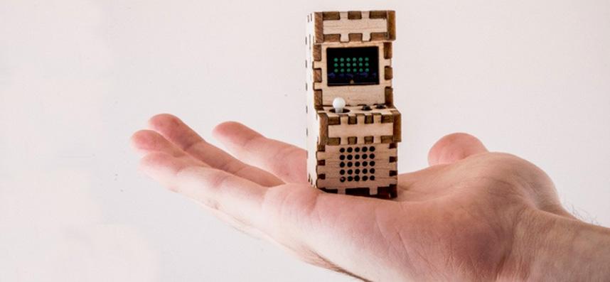 Tiny Arcade, une nano borne arcade rétro sous Arduino