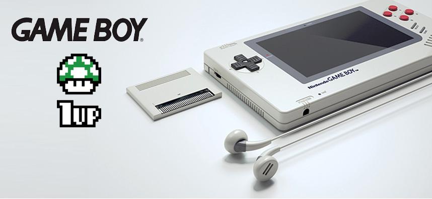 GAME BOY 1up, un designer réinvente le Gameboy 2015