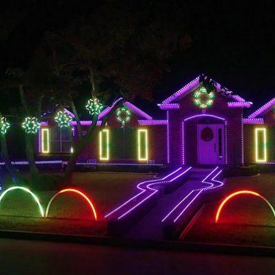 Mod éclairage de Noël façon Dubstep par Matt Johnson