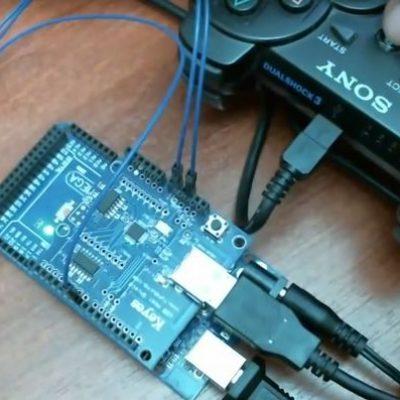 Contrôler des Servomoteurs électriques avec un Arduino et une manette PS3