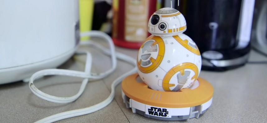 Comment fonctionne le droïde BB-8 de Star Wars VII ?