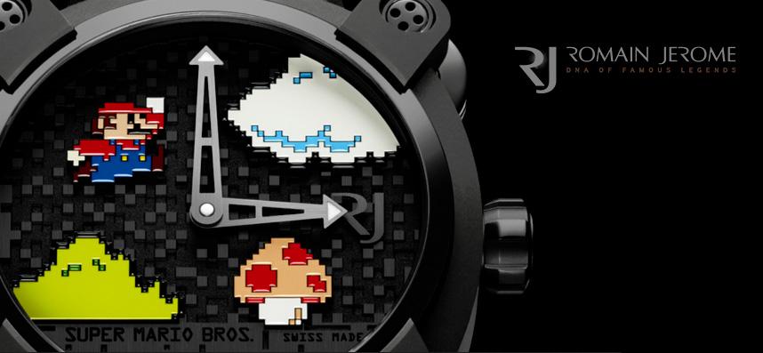 Montre Super Mario Bros par Romain Jérome