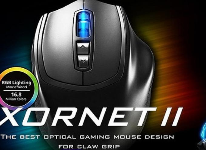 Test Cooler Master Xornet II – Souris droitier   PC