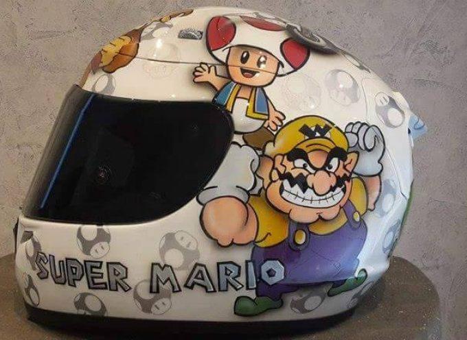 Mod casque HJC R-pha 10 «Super Mario» par Genetics Helmets