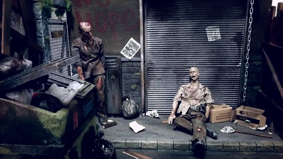 Adrian Mc Milan, créateur de dioramas