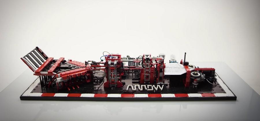 Aerospace & Defense : Machine LEGO à fabriquer les avions en papier