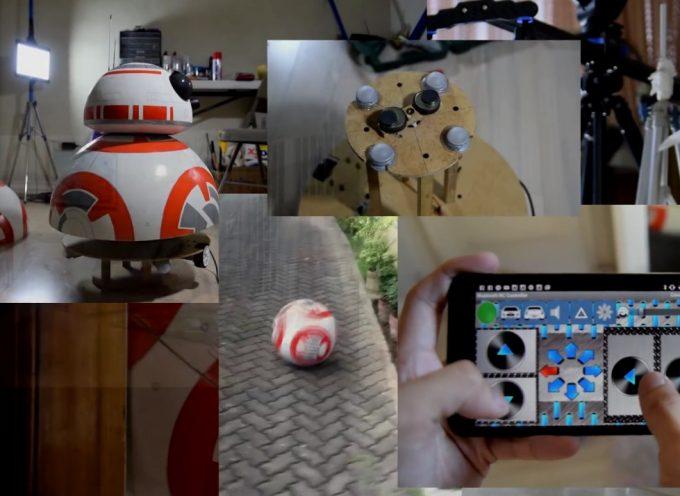 Construire son propre BB-8 taille réelle piloté par Android
