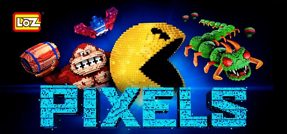 Pac-Man 3D en mini briques LUZ iBlock fun