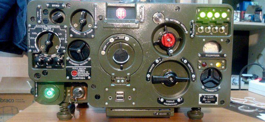 Mod PC World of Tanks sur une base de radio de char russe