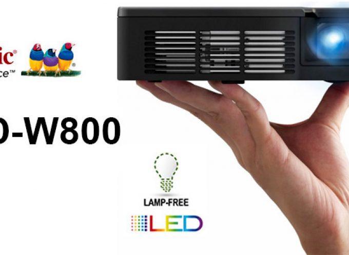 Test Projecteur portable Viewsonic PLED-W800