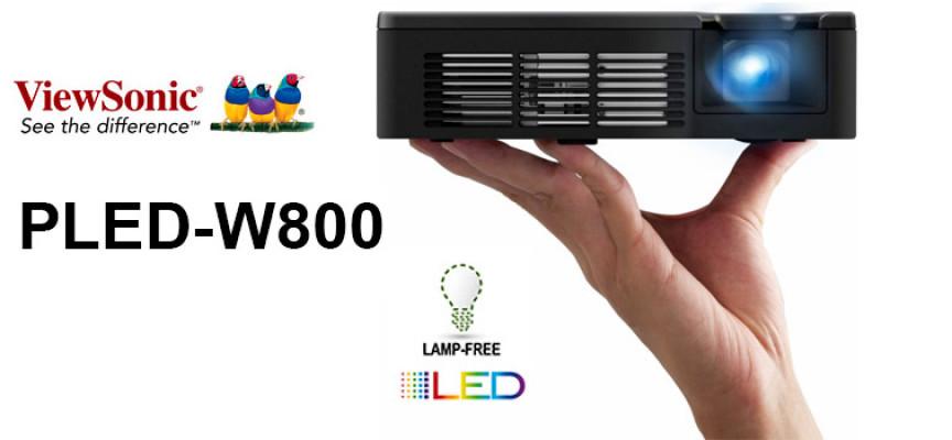 test projecteur portable viewsonic pled w800. Black Bedroom Furniture Sets. Home Design Ideas
