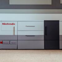 salle de jeu sur le thème Nintendo NES